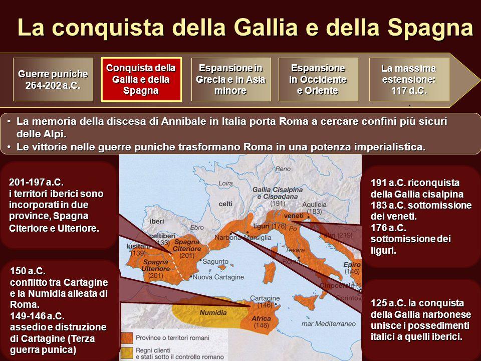 La conquista della Gallia e della Spagna