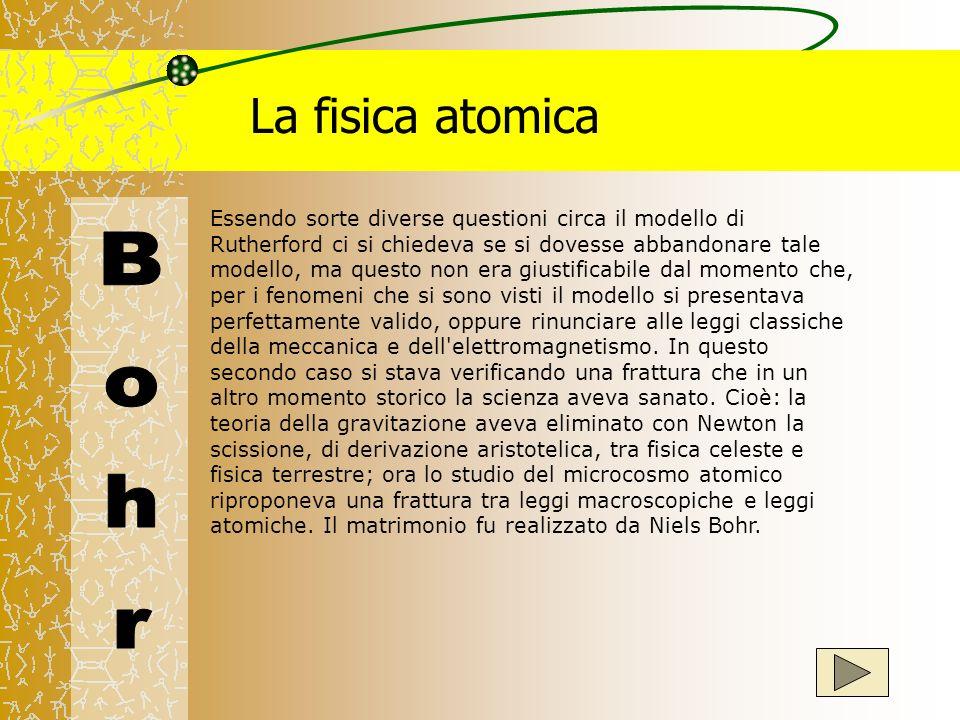 La fisica atomica