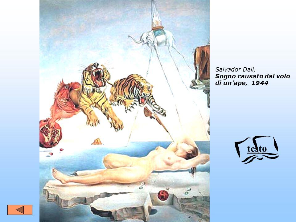 Salvador Dalì, Sogno causato dal volo di un'ape, 1944