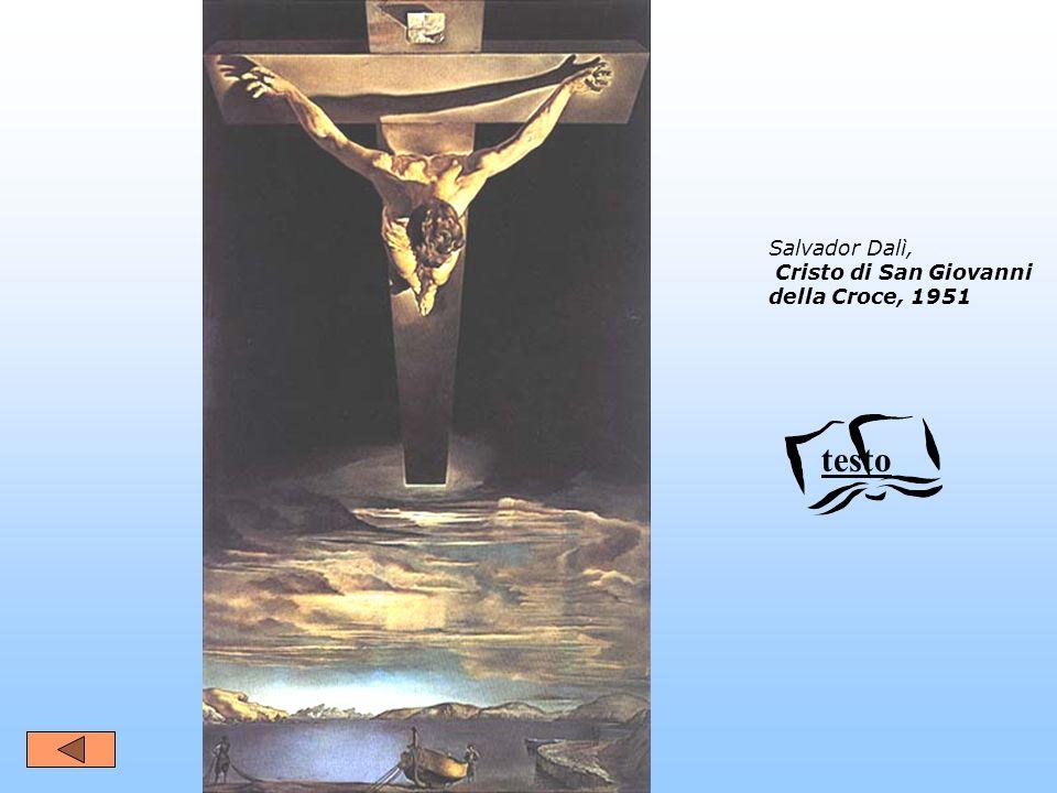 Salvador Dalì, Cristo di San Giovanni della Croce, 1951