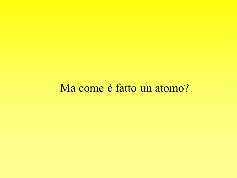 Ma come è fatto un atomo