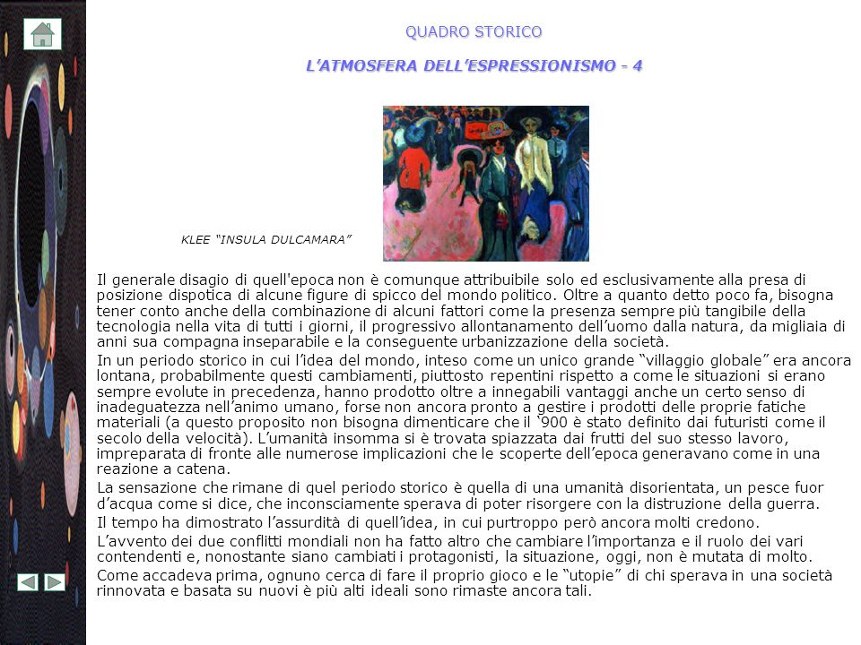 QUADRO STORICO L'ATMOSFERA DELL'ESPRESSIONISMO - 4