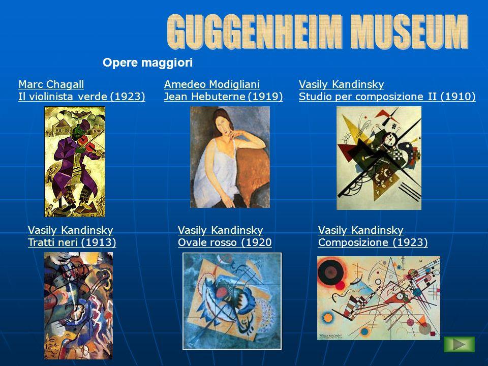 GUGGENHEIM MUSEUM Opere maggiori Marc Chagall