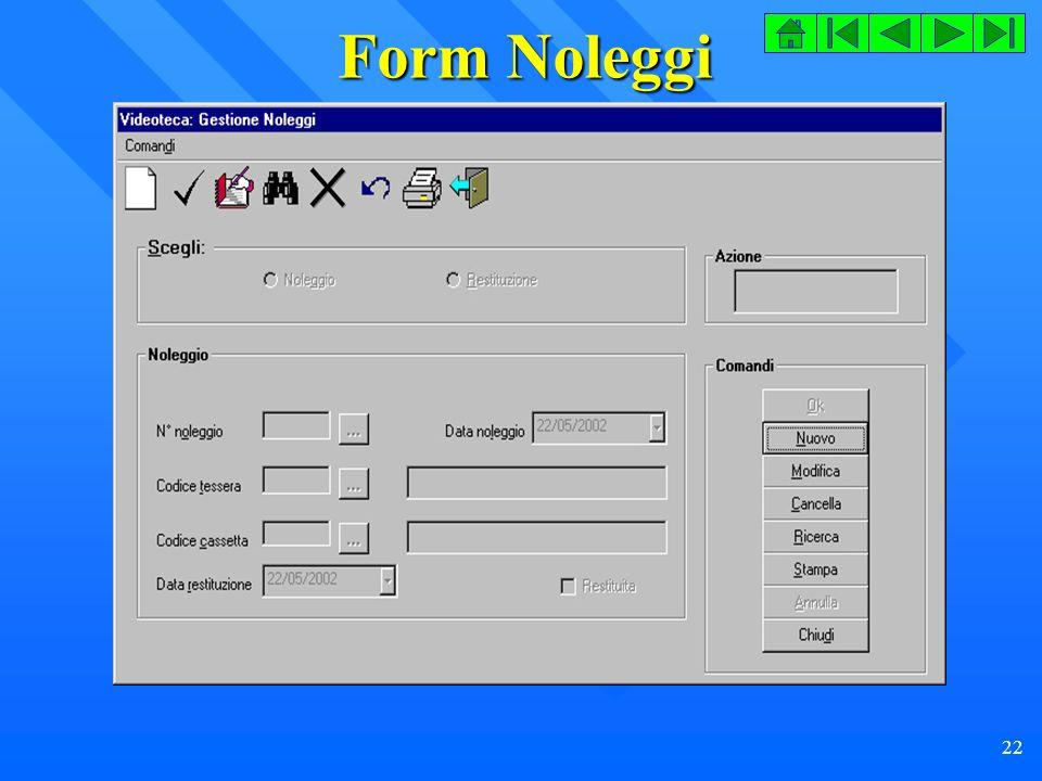 Form Noleggi
