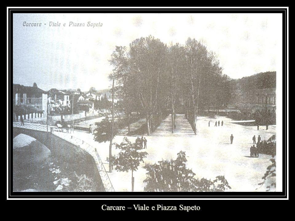 Carcare – Viale e Piazza Sapeto