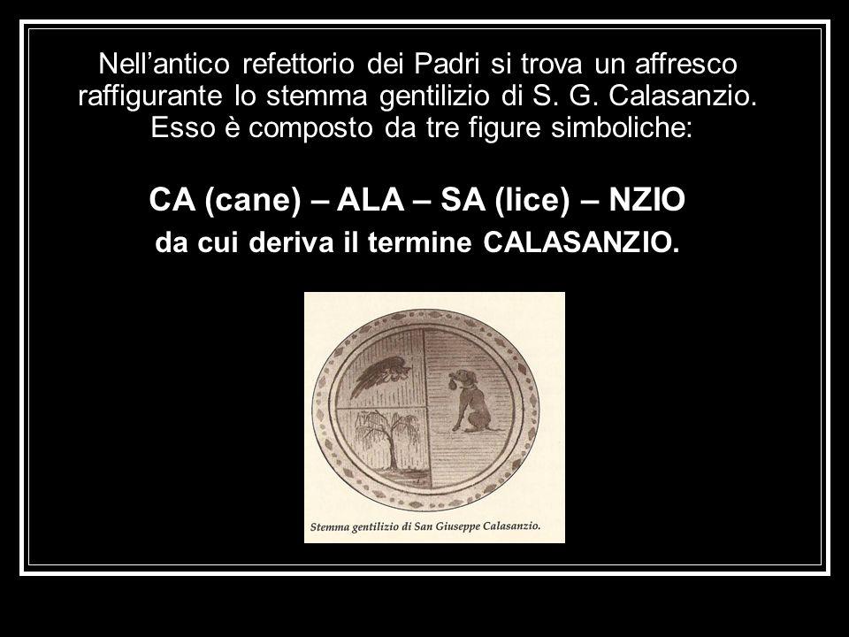 CA (cane) – ALA – SA (lice) – NZIO