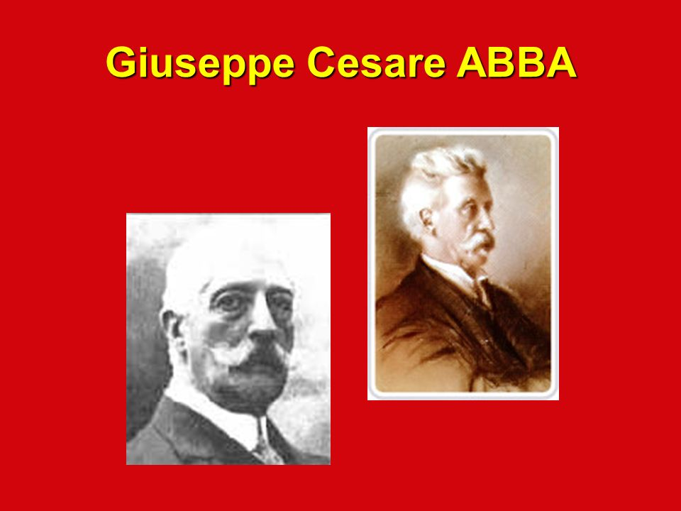 Giuseppe Cesare ABBA