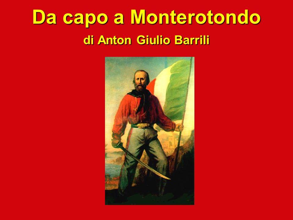 Da capo a Monterotondo di Anton Giulio Barrili