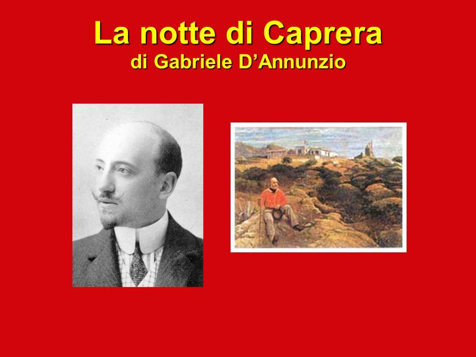 La notte di Caprera di Gabriele D'Annunzio