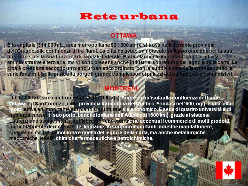 Rete urbana OTTAWA MONTREAL