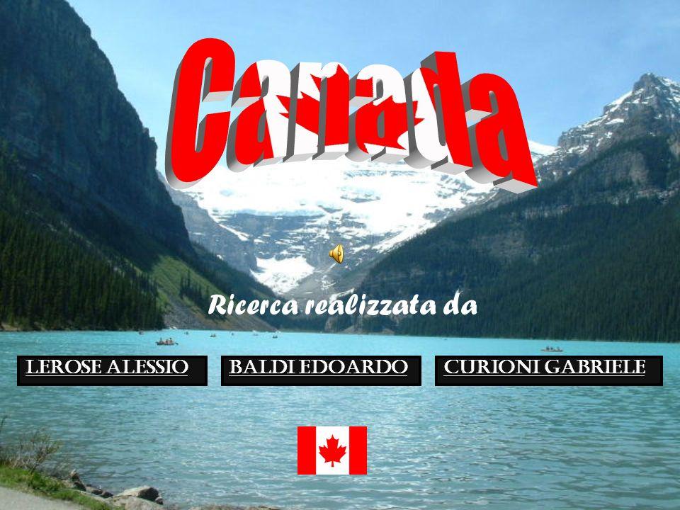 Canada Ricerca realizzata da Lerose Alessio Baldi edoardo