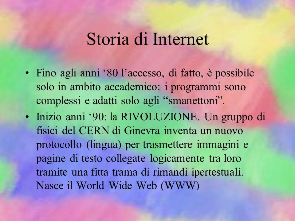Storia di Internet