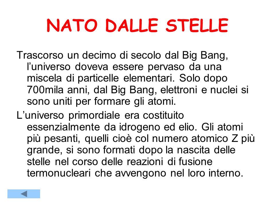 NATO DALLE STELLE