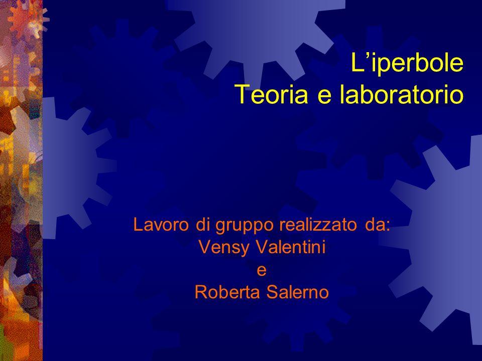 L'iperbole Teoria e laboratorio