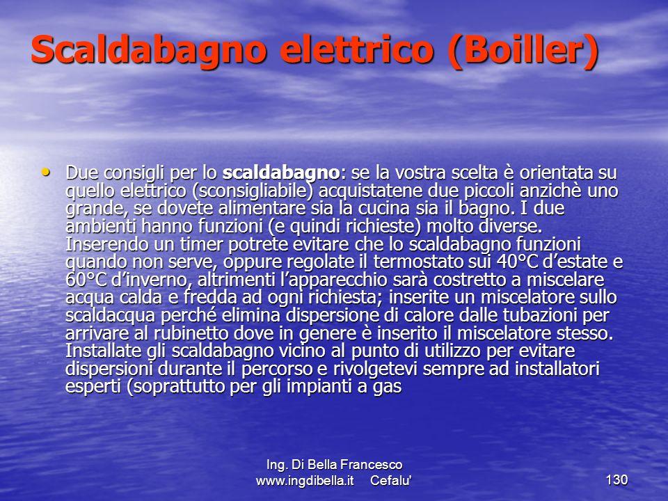 Scaldabagno elettrico (Boiller)