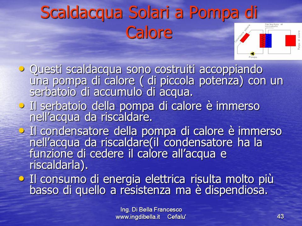 Scaldacqua Solari a Pompa di Calore