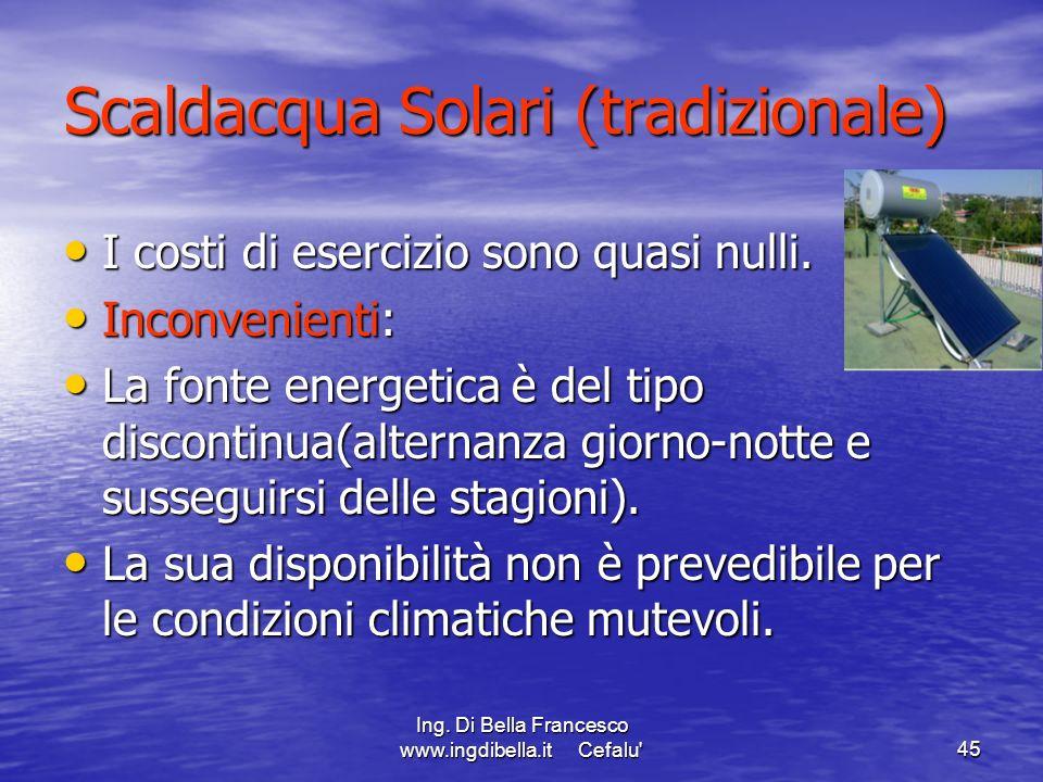 Scaldacqua Solari (tradizionale)