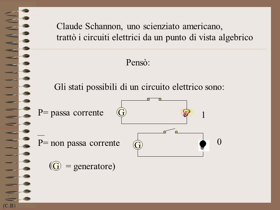 Claude Schannon, uno scienziato americano,