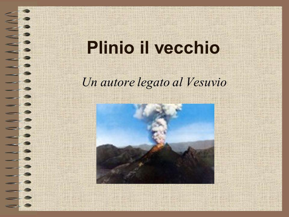 Un autore legato al Vesuvio