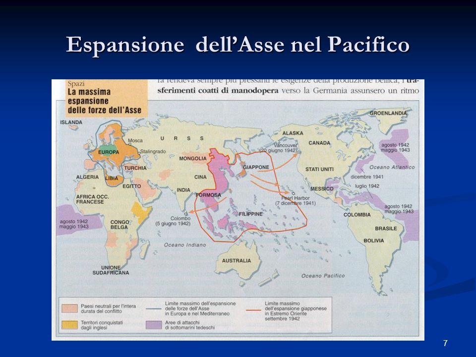 Espansione dell'Asse nel Pacifico