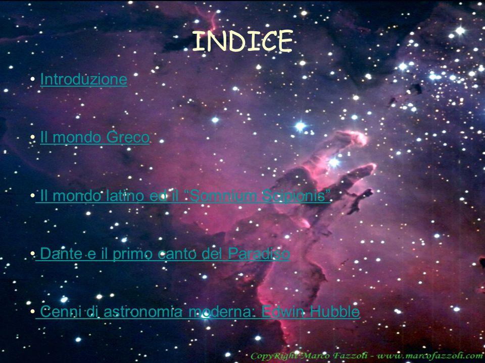 INDICE Introduzione Il mondo Greco