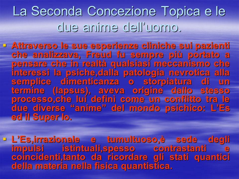 La Seconda Concezione Topica e le due anime dell'uomo.