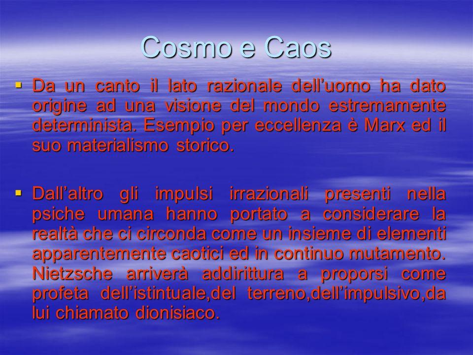 Cosmo e Caos