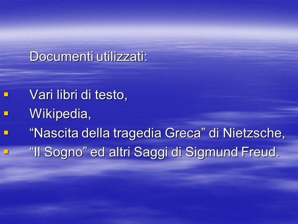 Documenti utilizzati: