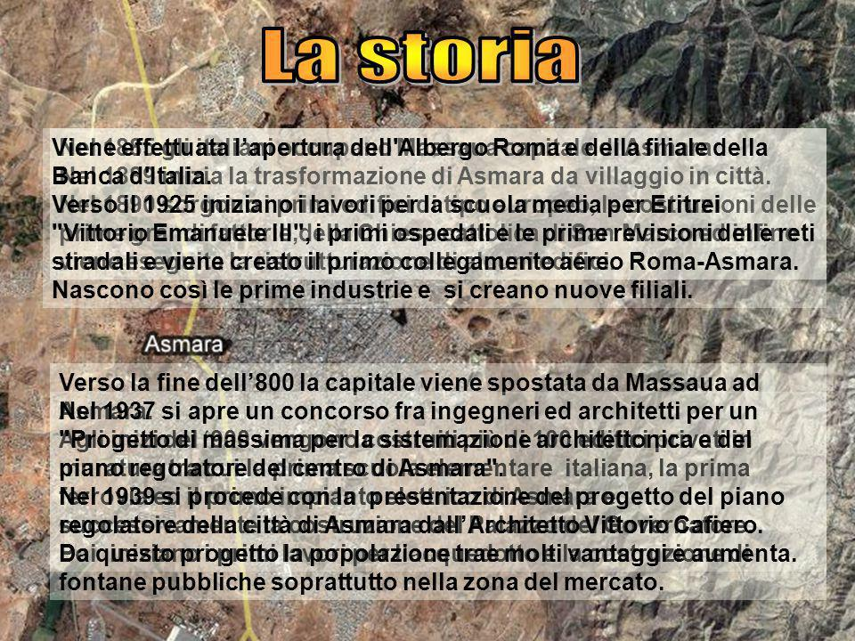 La storia Viene effettuata l'apertura dell Albergo Roma e della filiale della Banca d Italia.