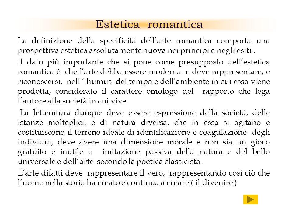 Estetica romantica