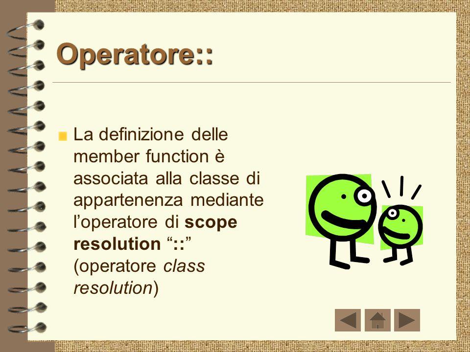Operatore::