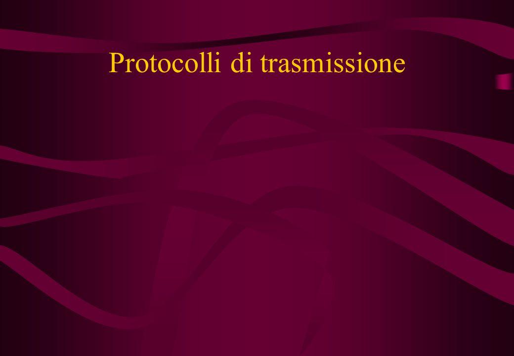Protocolli di trasmissione