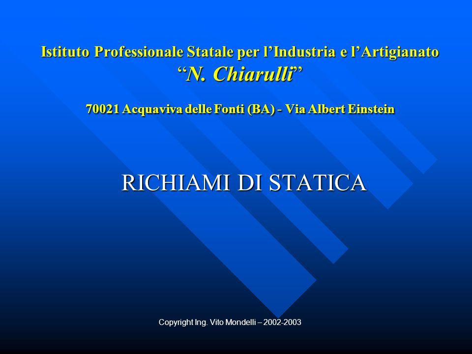 Copyright Ing. Vito Mondelli – 2002-2003