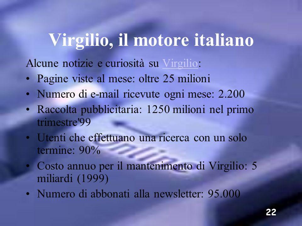 Virgilio, il motore italiano
