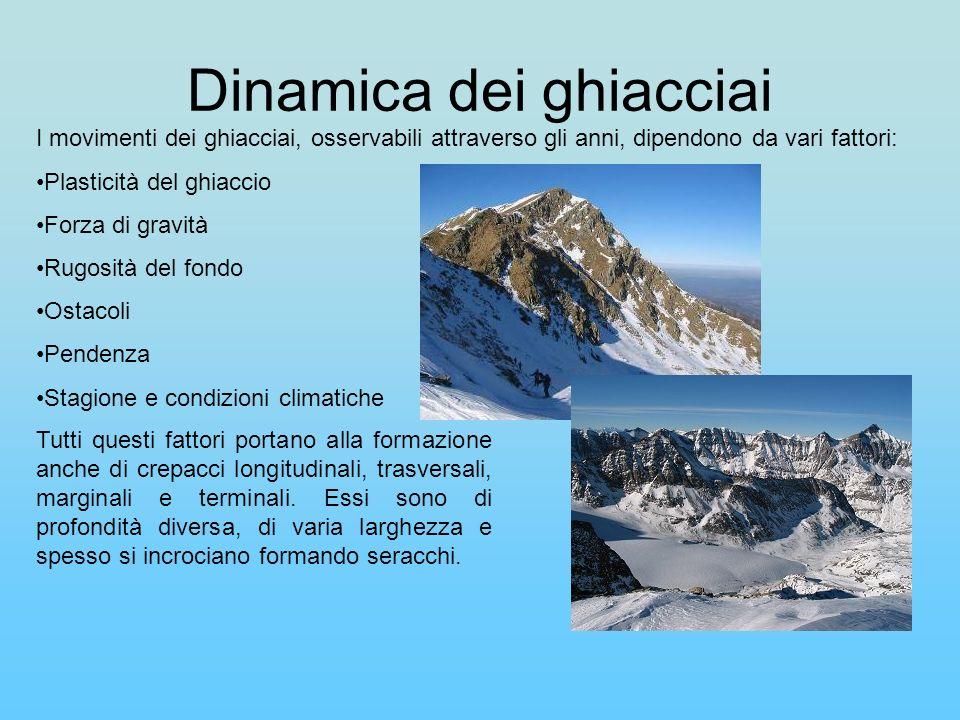 Dinamica dei ghiacciai