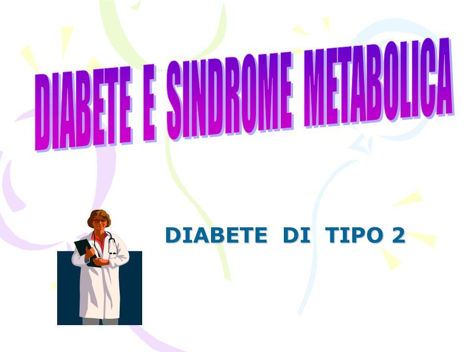 DIABETE E SINDROME METABOLICA