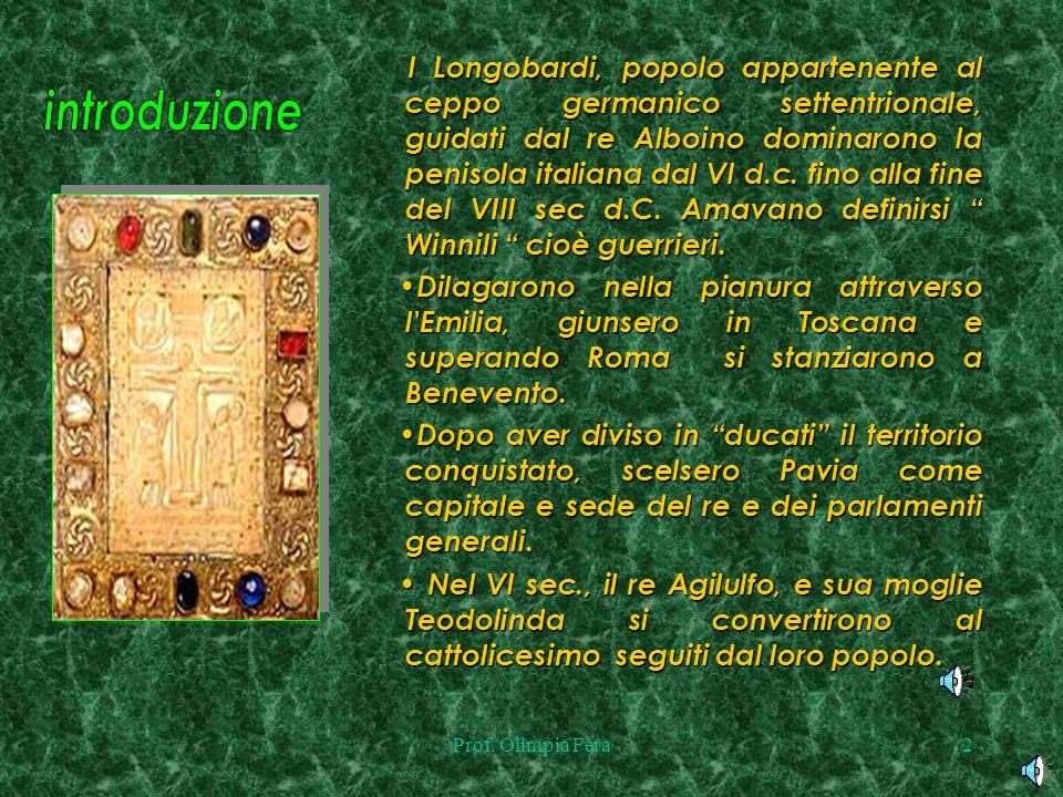 I Longobardi, popolo appartenente al ceppo germanico settentrionale, guidati dal re Alboino dominarono la penisola italiana dal VI d.c. fino alla fine del VIII sec d.C. Amavano definirsi Winnili cioè guerrieri.