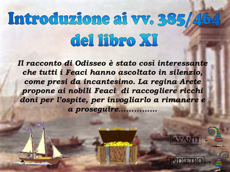 Introduzione ai vv. 385/464 del libro XI