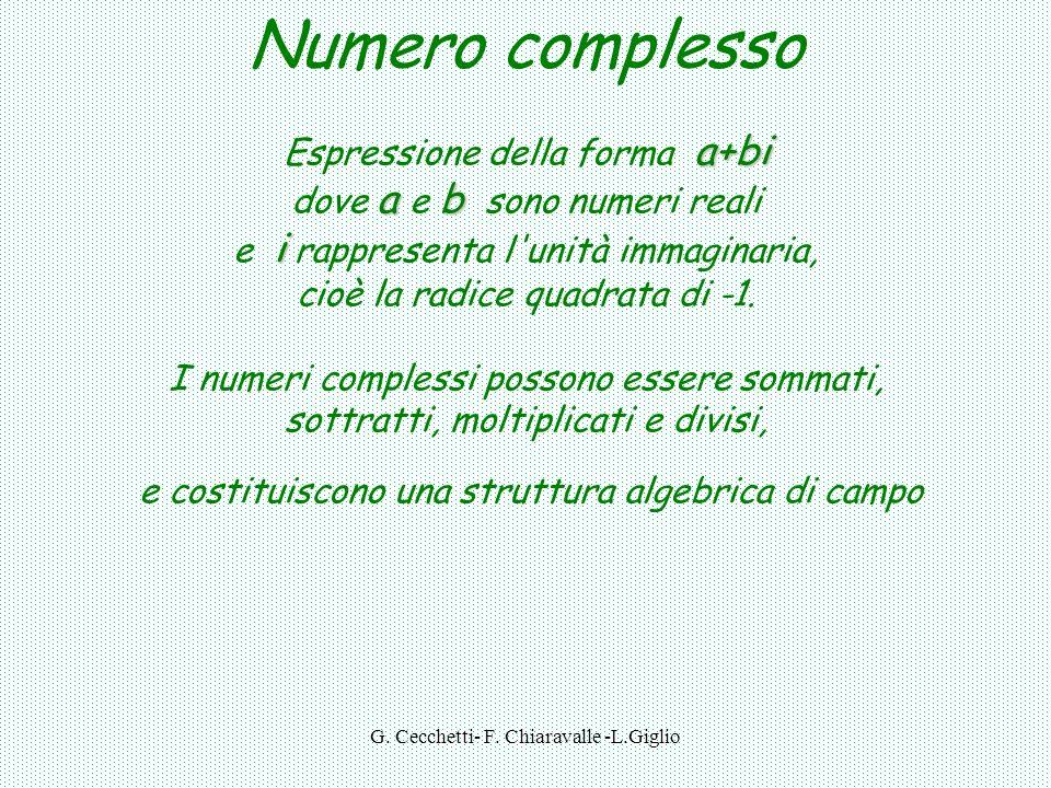 G. Cecchetti- F. Chiaravalle -L.Giglio