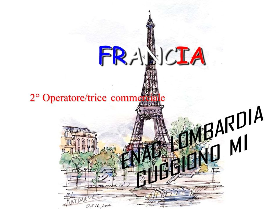 2° Operatore/trice commerciale