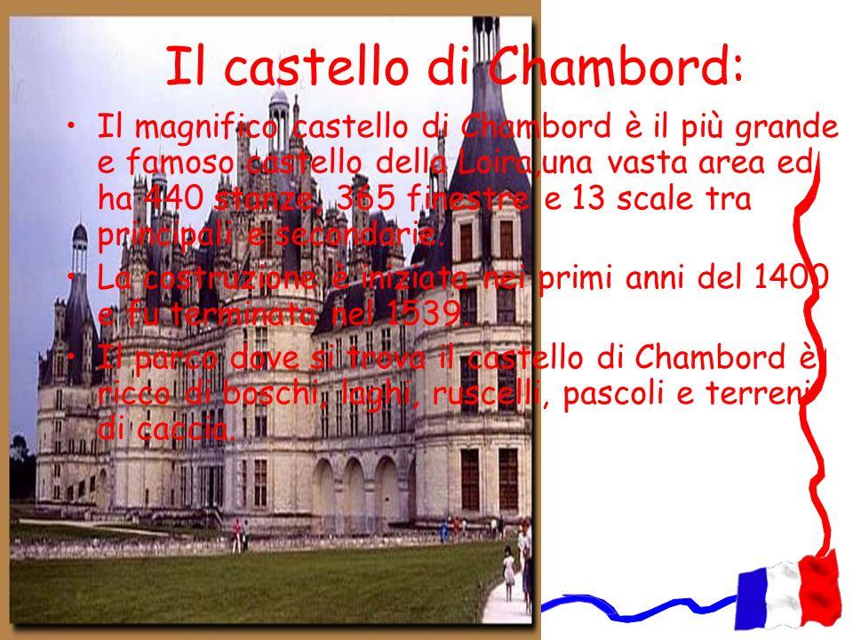 Il castello di Chambord: