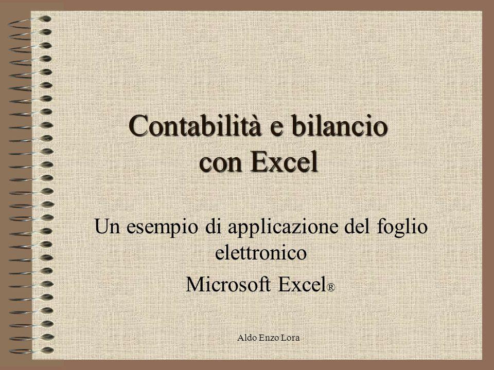 Contabilità e bilancio con Excel