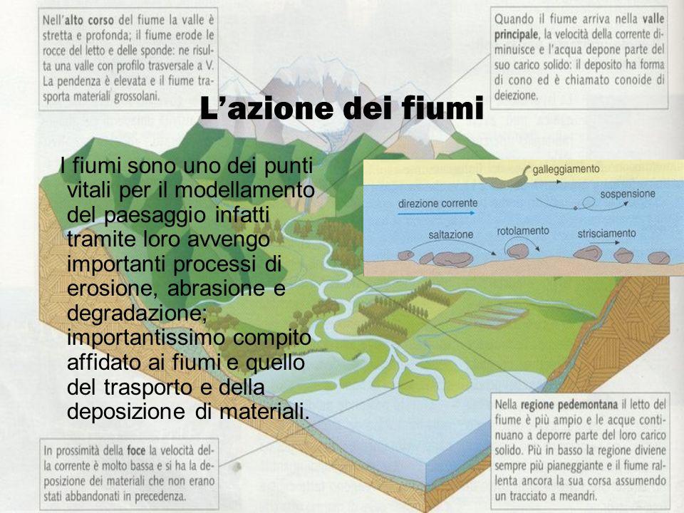 L'azione dei fiumi