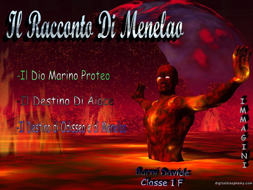 -Il Destino di Odisseo e di Menelao