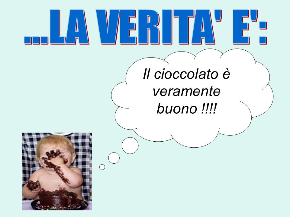 Il cioccolato è veramente buono !!!!