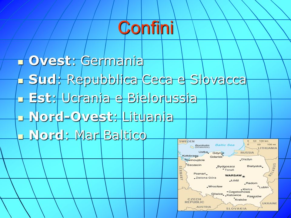 Confini Ovest: Germania Sud: Repubblica Ceca e Slovacca