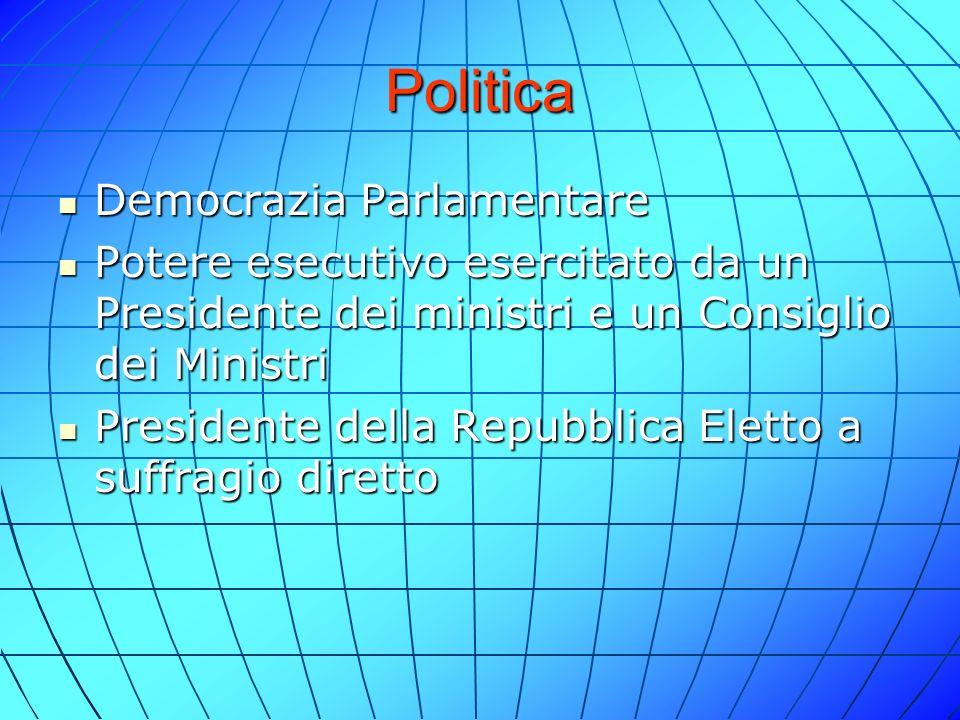 Politica Democrazia Parlamentare