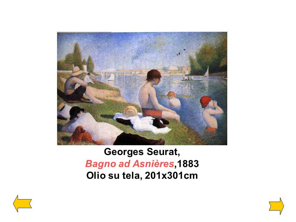 Georges Seurat, Bagno ad Asnières,1883 Olio su tela, 201x301cm