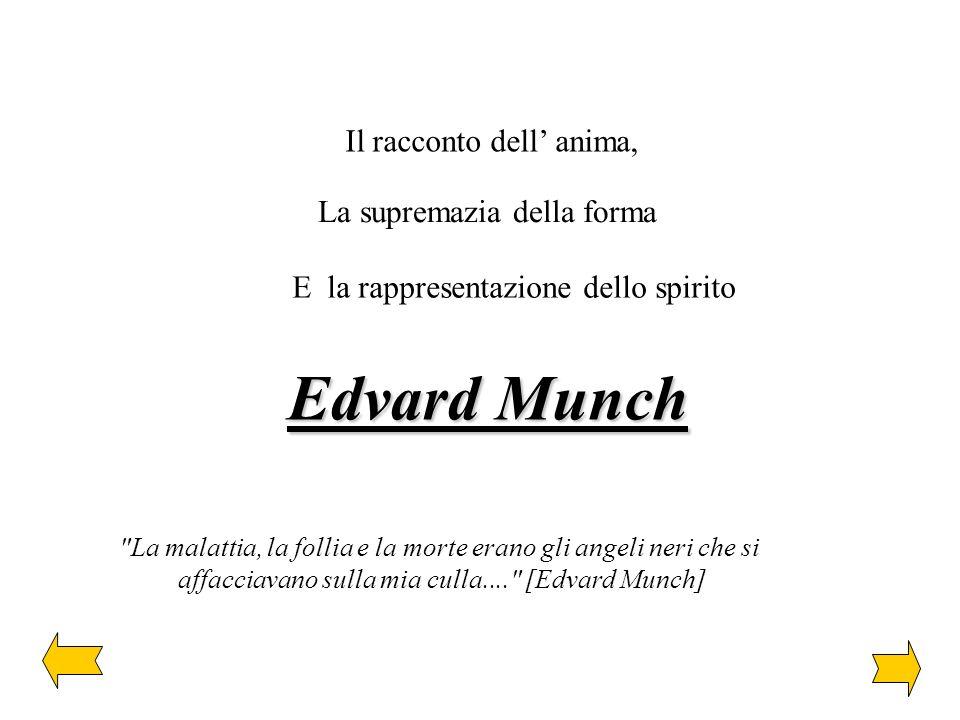 Edvard Munch Il racconto dell' anima, La supremazia della forma