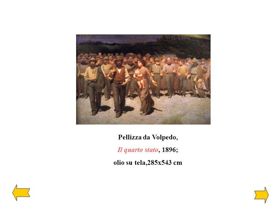 Pellizza da Volpedo, Il quarto stato, 1896; olio su tela,285x543 cm
